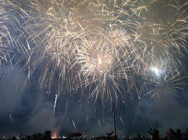 venice lagoon fireworks