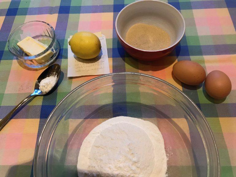 Carnival sweet ingredients